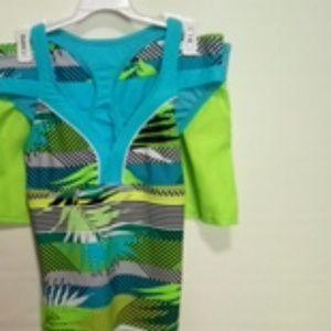 Girls 3 piece swimsuit